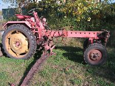 Traktor RS09 DDR mit Mähbalken und diversen Ersatzteilen