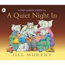 A Quiet Night in (Large Family), New, Jill Murphy Book