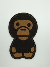 A Bathing Ape monkey Baby Milo Bape Sports Badge Embroidered Patch Iron Sew Logo
