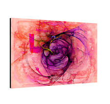 120x80cm Painting Paul Sinus Series Enigma On Canvas Timeless Pink Violet Red