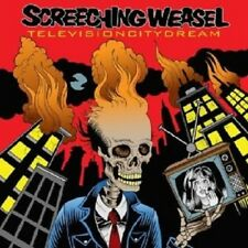 """SCREECHING WEASEL """"TELEVISION CITY DREAM"""" CD +++ NEW!"""