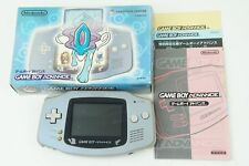 Nintendo Gameboy Advance Suicune Blue Consolle GBA Box From Japan