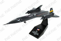 Lockheed YF-12 NASA test led to SR-71 Blackbird diecast 1/144 model plane