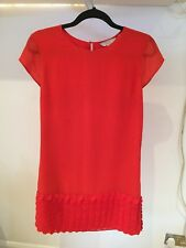 Ted Baker red dress size 2 UK10