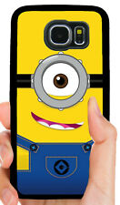 MINIONS KIDS PHONE CASE FOR SAMSUNG NOTE & GALAXY S3 S4 S5 S6 S7 S8 S9 S10 PLUS