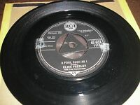 ELVIS PRESLEY  A FOOL SUCH AS I/I NEED YOUR LOVE TONIGHT TRI-CENTRE RCA 1113