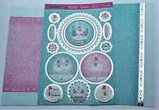 New 2020 Hunkydory Christmas Ballet Snowglobe Toppers & Card Kit