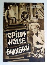IFB #1508 - OPIUMHÖLLE SHANGHAI /Mystère à Shanghai *FILMPROGRAMM MOVIE-PROGRAM