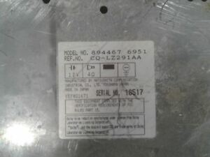 Audio Equipment Radio Receiver With Cassette Fits 91-93 ISUZU STYLUS 638998