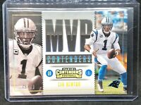 Cam Newton 2017 MVP CONTENDERS Parallel PANTHERS #/99