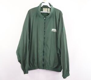 Vintage 90s Reebok Golf Mens Large Michigan State Spartans Spell Out Jacket