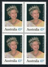 1995 Birthday of Her Majesty Queen Elizabeth II - MUH Block of 4
