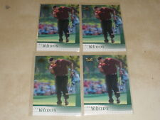 Lot of 4 - 2001 Upper Deck Rookie RC #1 Tiger Woods