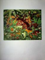 Slagharen Das - Tributo A Zöllner Rousseau - Stampa IN Quadricromia Di Haute