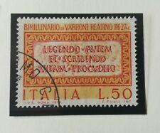 Francobolli Italia 1974 - Morte Marco Terenzio Varrone - Usato