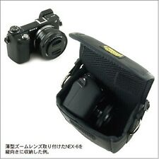 VanNuys sub pocket carrying case for SONY Cyber shot RX1 NEX 5. 6. 7 wallet F/S