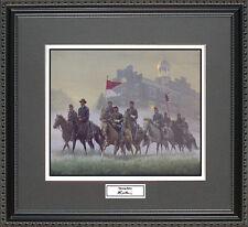 Mort Kunstler MORNING RIDERS  Framed Print Civil War Wall Art Gift