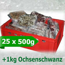 Premium 25 x 500gr Barf Paket Frostfutter Barffleisch Frostfleisch barfen