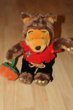 Winnie the Pooh in Werewolf Costume Plush Stuffed Animal Halloween