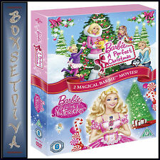 BARBIE - A PERFECT CHRISTMAS & NUTCRACKER - 2 FILM COLLECTION  **BRAND NEW DVD**