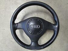 Volante de cuero volante airbag Audi originales a3 8l 3 radios 8l0419091j