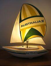 Vintage Australia II Yacht Lamp Rare Historic Americas Cup Retro Maritime 1983