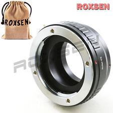Rollei QBM SL35 mount lens to Fujifilm X-Pro1 X-E1 FX camera adapter Pro1 T1 A2