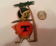 "FTU University Florida Tech Citronaut mascot logo patch vintage 4"" x 2"""