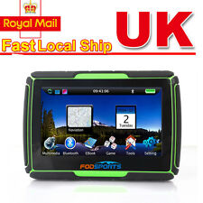 "4.3"" 8GB 256MB Motorcycle Bike Touch Screen GPS SAT NAV w. Europe Map Navigation"