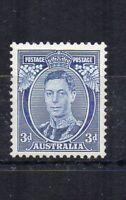 Australia 1937 3d Die I MLH