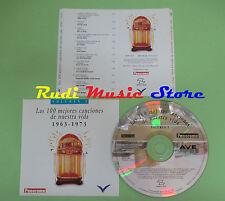 CD 100 CANCIONES NUESTRA VIDA 1963-1973 VOL 9 compilation PROMO 1993 (C28)