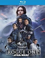 Rogue One: A Star Wars Story (Blu-ray/DVD, 3 Disc Set 2017) New w/ Slipcover!