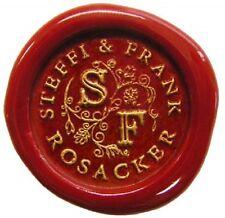Sello sello sello illuminata initalien 25mm boda de la Edad Media