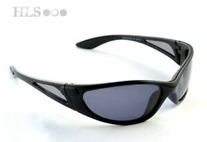 Polarised fishing sun glasses Fishing outdoor Wrap grey tint reduce glare HLS