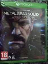Metal Gear Solid V 5 Ground Zeroes Xbox One Nuevo Precintado Acción PAL España-