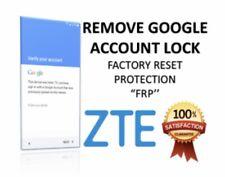 ZTE Google Account Removal Service/FRP Z981 Z982 Z983 Z835 N9137 N9560/ALL MODEL