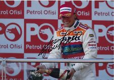 Giorgio Pantano Hand Signed 12x8 Photo - Formula 1 Autograph F1.