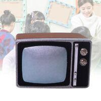 1: 12/1: 6 Dollhouse Mini Scene Mode Mini Pretend TV Model Toy Wooden