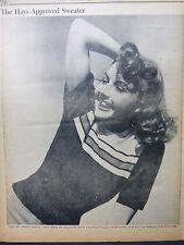 LYNN BARI FOX'S TEN GENTLEMEN WEST PT 1942 JANUARY 14  HOLLYWOOD STAR PM DAILY