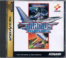 Gradius DELUXE PACK SEGA Saturn SS Salamander JAPAN DX