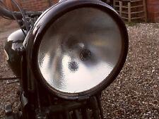 LUCAS HEADLAMP LIGHT GLASS SUIT AJS BSA NORTON TRIUMPH MG MORRIS AUSTIN ARIEL