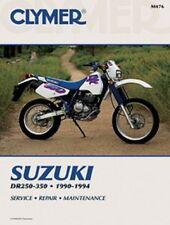 Clymer Manual Suzuki DR250 DR250S & DR350 DR350S 1990-1994 M476