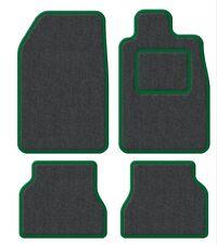 Suzuki Samurai/Santana/SJ 410 Velour Anthracite/Green Trim Car mat set