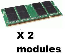 2GB= 2x 1gb LAPTOP Memory Ram DDR2 sodimm Sony Vaio pcg- 7T1L 7X1L X2L 7Y2L 7Z2L