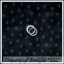 BonEful Fabric FQ Cotton Quilt Black Gray Swirl Harry Potter Tone S Calico Blend
