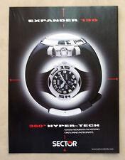 B063-Advertising Pubblicità-2000 - EXPANDER 130 SECTOR - OROLOGI