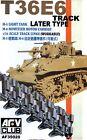 AFV Club 1/35 AF35020 WORKABLE T36E6 Track Link for M5/M8 Howitzer Motor Carrige