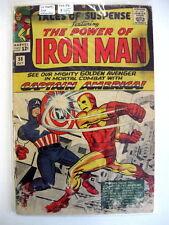 *TALES OF SUSPENSE #58 Captain America Starts; 2nd Kraven