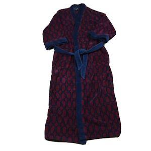 CHRISTIAN DIOR 90s VTG Bath Robe Monsieur Terry Cloth Towel L One Size smoking