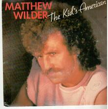 "<588-11> 7"" Single:Matthew Wilder - The Kid's American"
